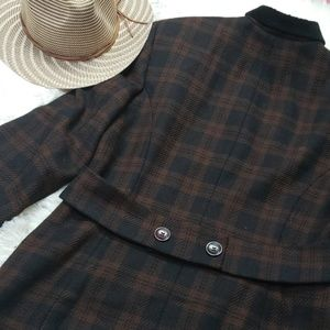 Vintage Jones new York wool blazer coat